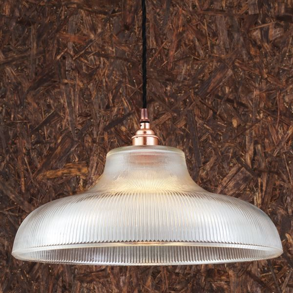 Mono Industrial Railway Pendant Light 40cm
