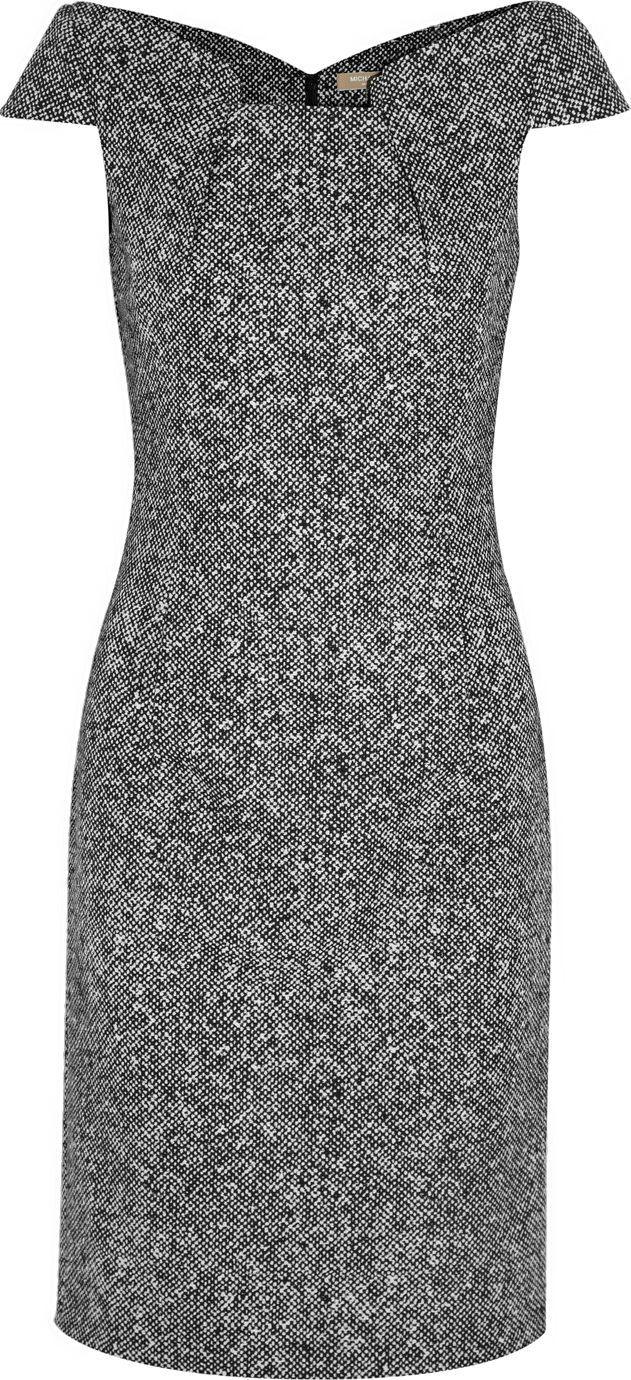 Michael Kors ● wool-tweed dress