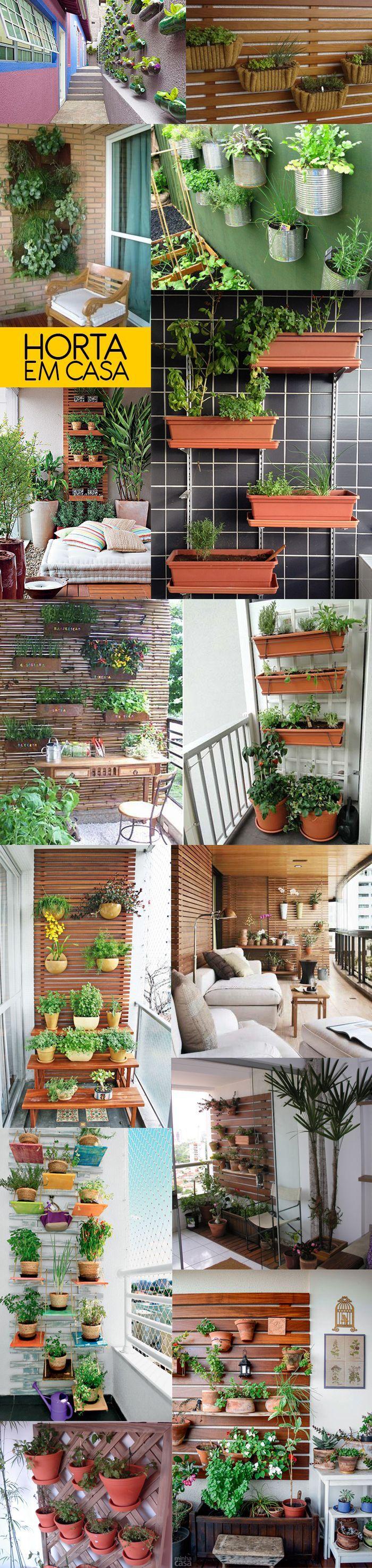 Como montar uma horta vertical na sua varanda  BramareBramare