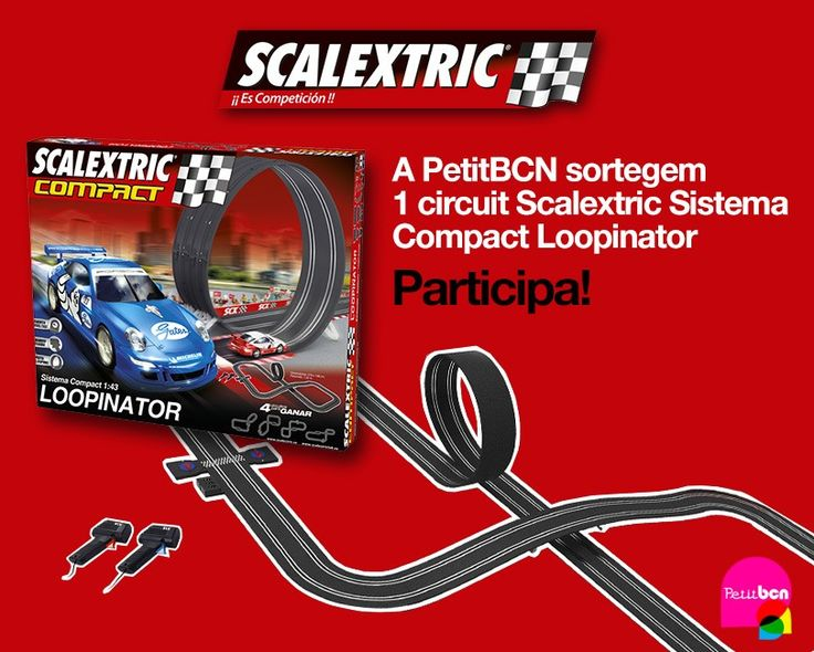 A PetitBCN sortegem 1 circuit Scalextric Sistema Compact Loopinator