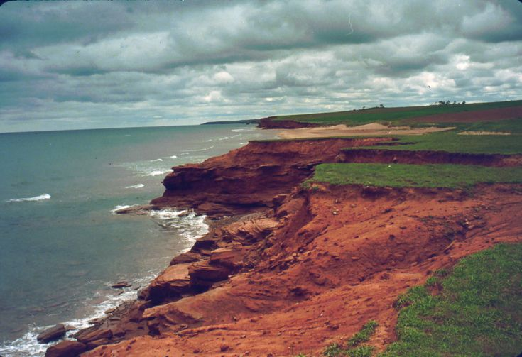 The sandy dunes of Cavendish in Prince Edward Island