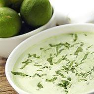Creamy Thai spinach soup recipe