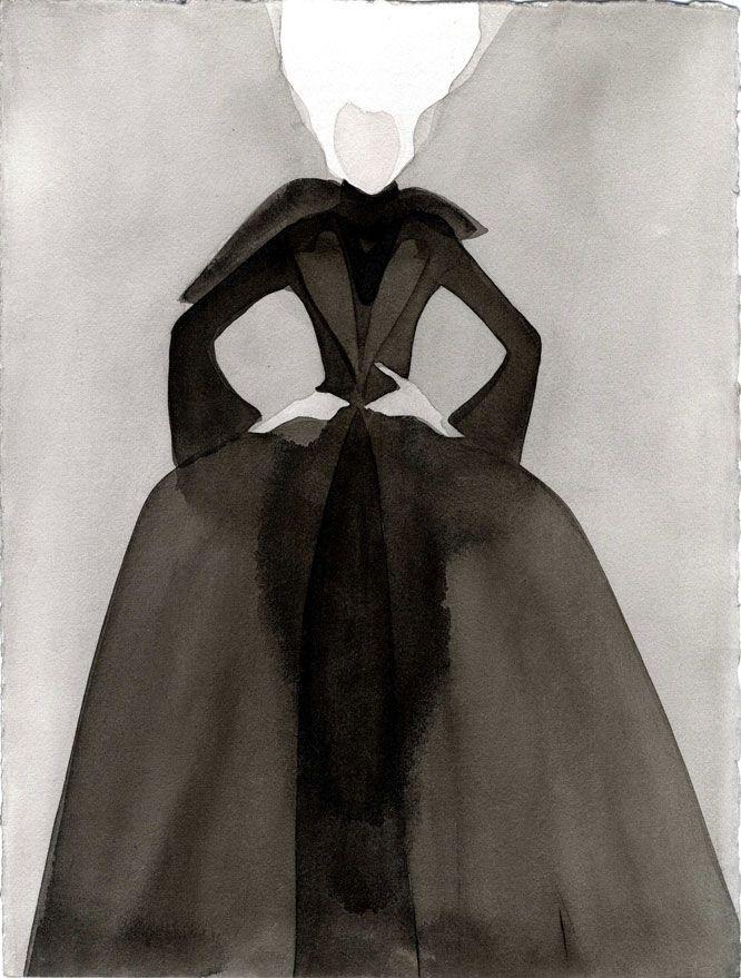 "Mats Gustafson, Galerie Bartsch  Chariau » J.P. Gaultier ""White Wig"" for Vogue Italia, 1999"