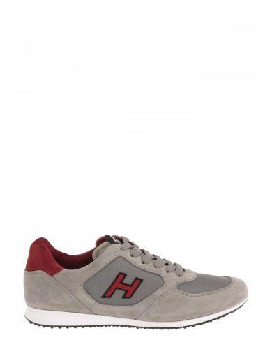 HOGAN Hogan Sneaker In Pelle Scamosciata. #hogan #shoes #sneakers