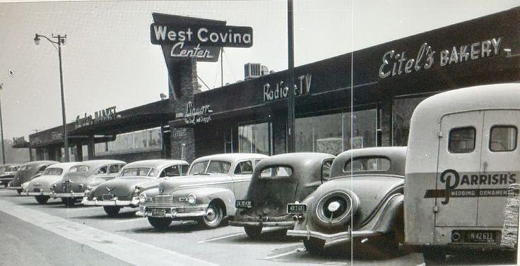 West Covina Center 1950s