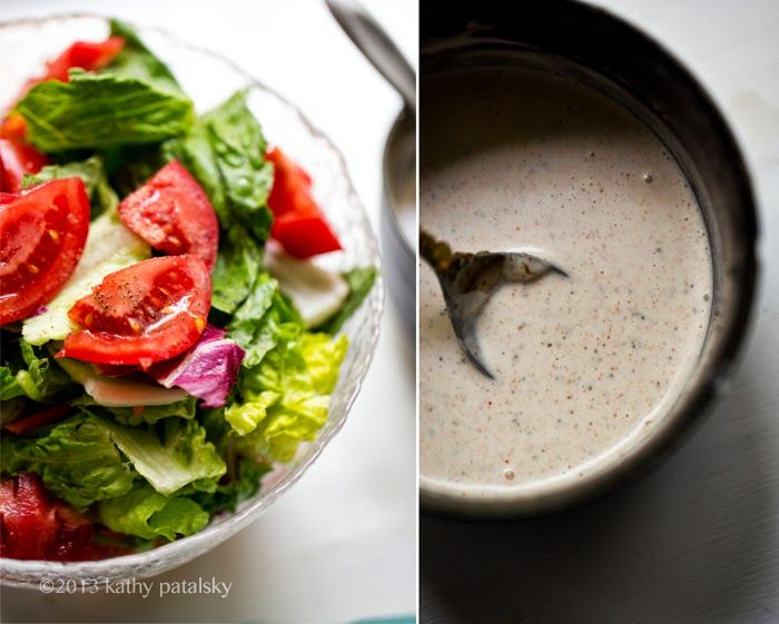 how to make veg salad dressing at home
