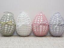pastel crochet eggs Please visit my Dawanda shop http://pl.dawanda.com/shop/decoranna