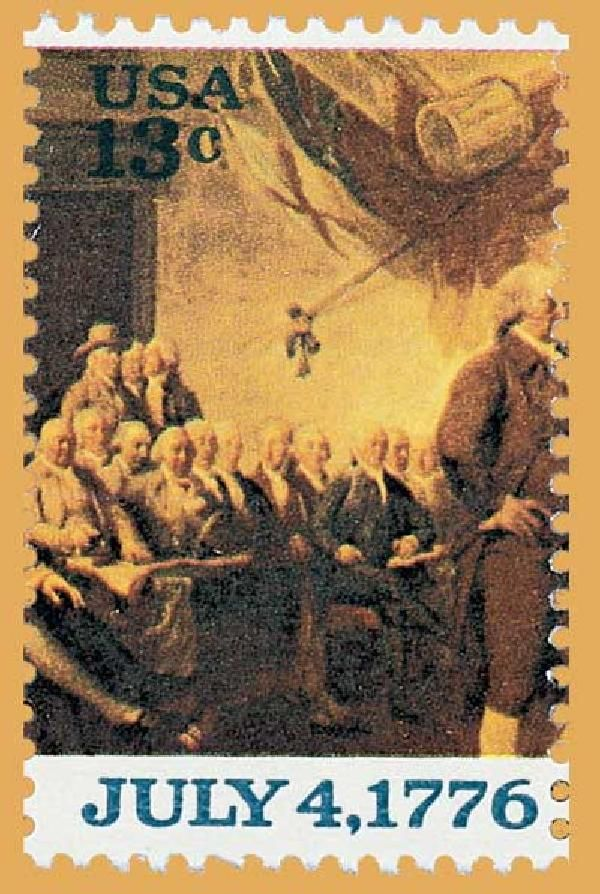 july 4th 1976 stamp