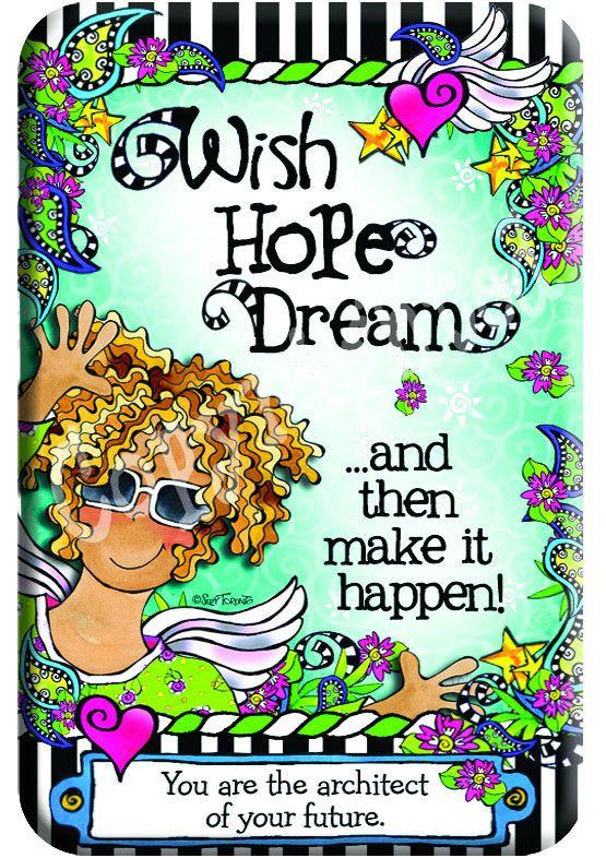 Suzy Toronto Wish Hope Dream - Magnet