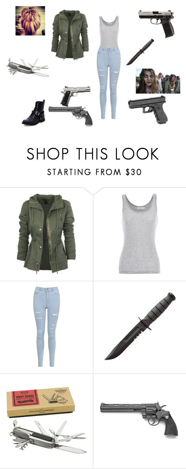 """""""what i waer wolud wear when i am in thw walking dead or the last of us"""" by chantry-alexa ❤ liked on Polyvore featuring Velvet by Graham & Spencer, Miss Selfridge and Wild & Wolf"""