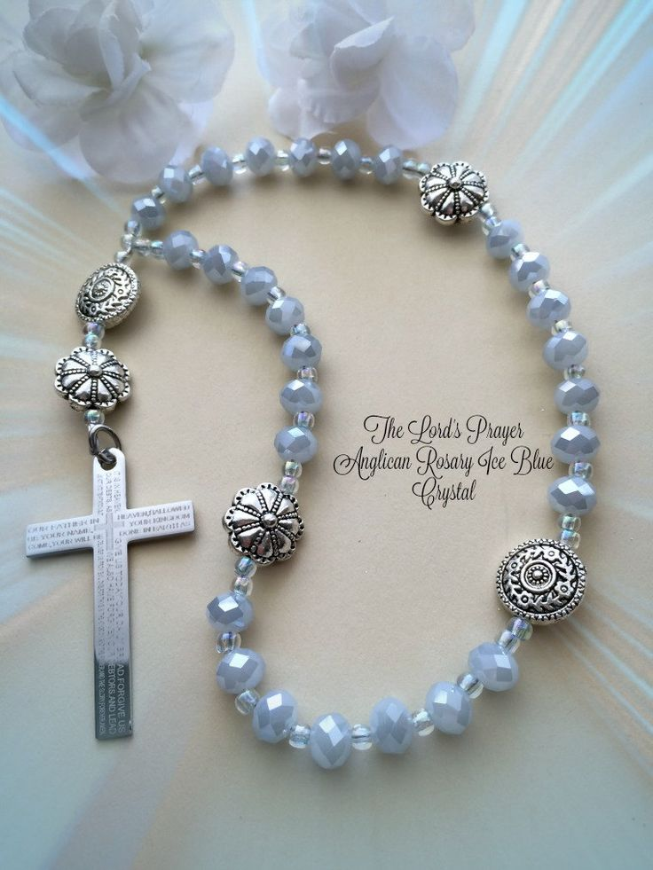 Protestant Prayer Beads The Lord S Prayer Cross Rosary