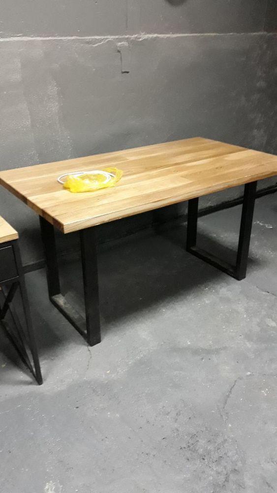 стол, заказать стол лофт, дизайн, стол лофт из дуба, прочный стол