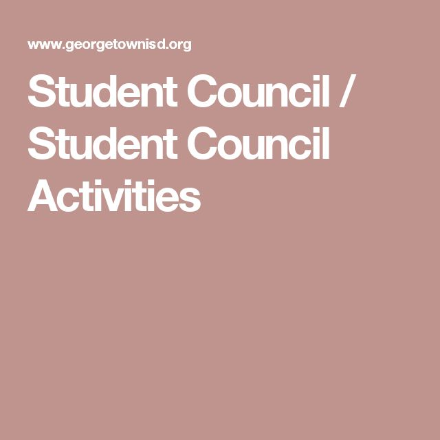 Student Council / Student Council Activities More