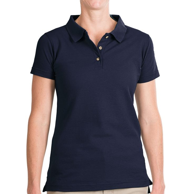Walls Workwear Polo Shirt - Short Sleeve (For Women) in Navy