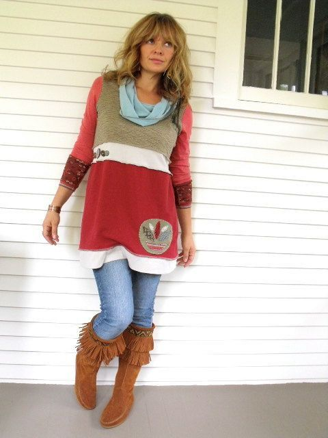 Tunic out of allsorts