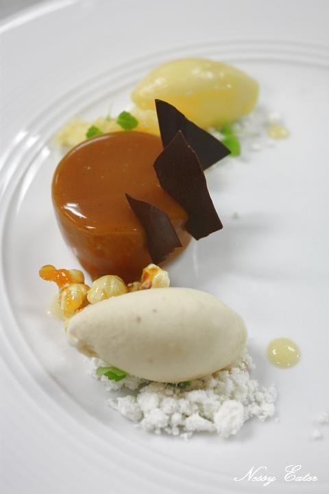 "Anna Polyviou dessert "" Caramelize me Casey"" @ Shangri-La Hotel Sydney"