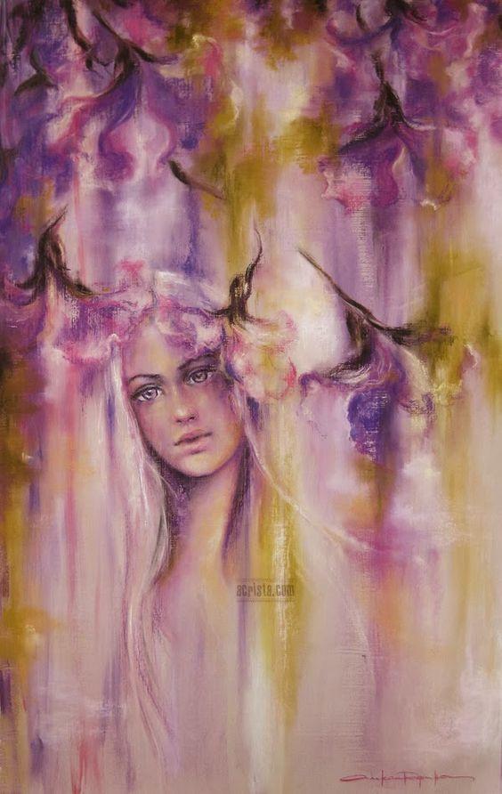 Resultado de imagem para imagem de pintura de alexandrina karadjova