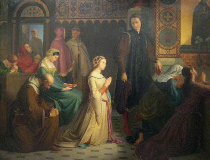 Laura, Josef Mánes podle Petrarchova díla - Sonety Lauře