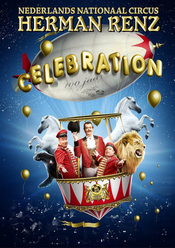 De poster voor de jubileumshow, gemaakt door Sterk Reclame uit Lieshout