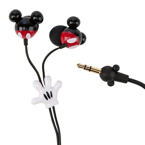 Mickey Mouse Earbuds #Disney #FunFinds....I just ordered these from the Disney Store!! Whoo hoo!