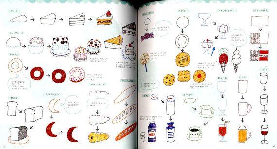 Kugelschreiber Illustration Collection Japanisches Handwerk