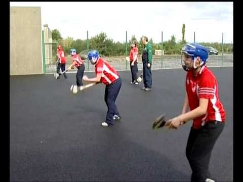 Hurling / Camogie wall drills - YouTube