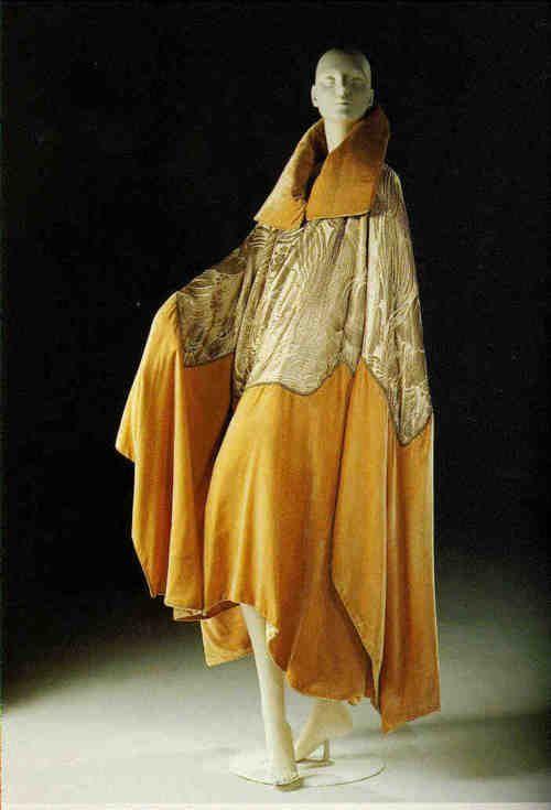 Lanvin opera coat ca. 1920s  From Beverley Birks