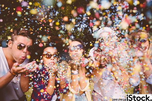 Today's image of the day is an explosive, youthful scene of confetti blowing: bit.ly/blown-away-image