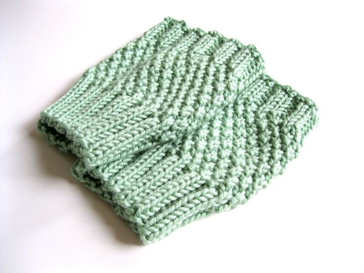 boot cuff knit pattern | Funky Fresh Fraziers: Boot cuff pattern