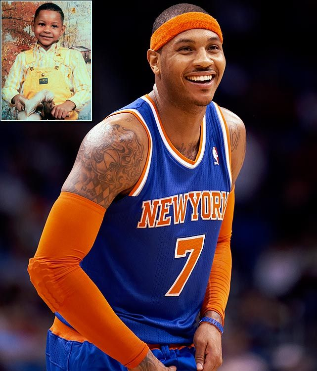Carmelo Anthony my favorite player!