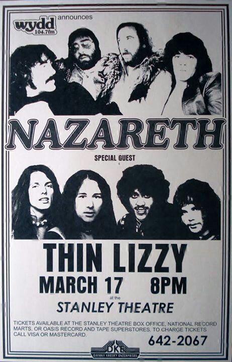 Nazareth / Thin Lizzy