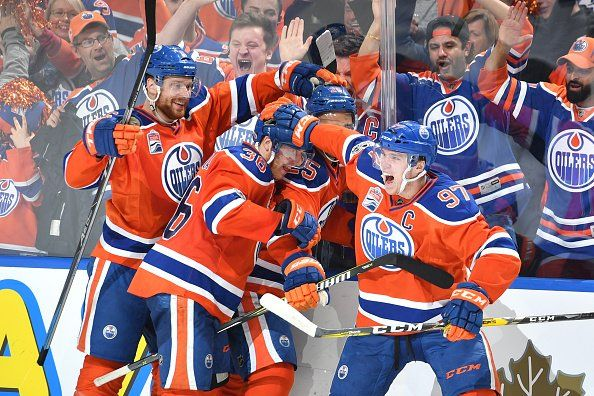 NHL Public Relations Verified account @PR_NHL 21m 21 minutes ago Connor McDavid and Zack Kassian each scored shorthanded goals as the EdmontonOilers evened their series.