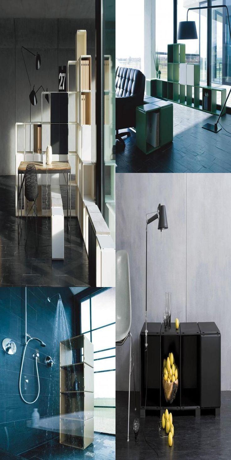 Flexibles Regalsystem #Flexibles #Regalsystem #qubing #dekoration #wohnun …
