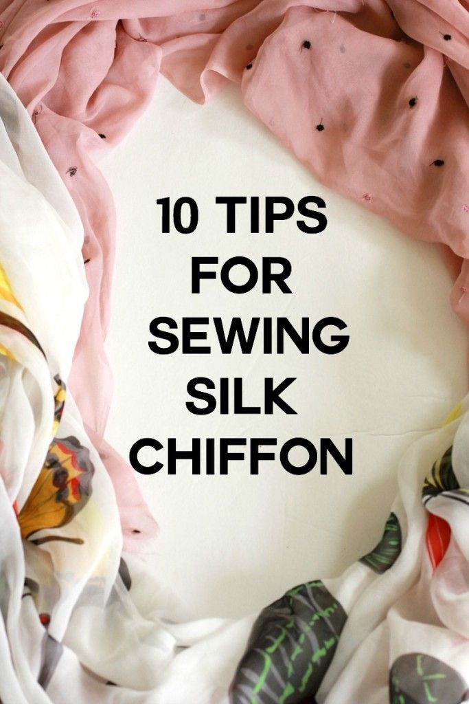 Justine over at Sew Country Chick gives some really great tips for sewing with Silk Chiffon. -Sewtorial
