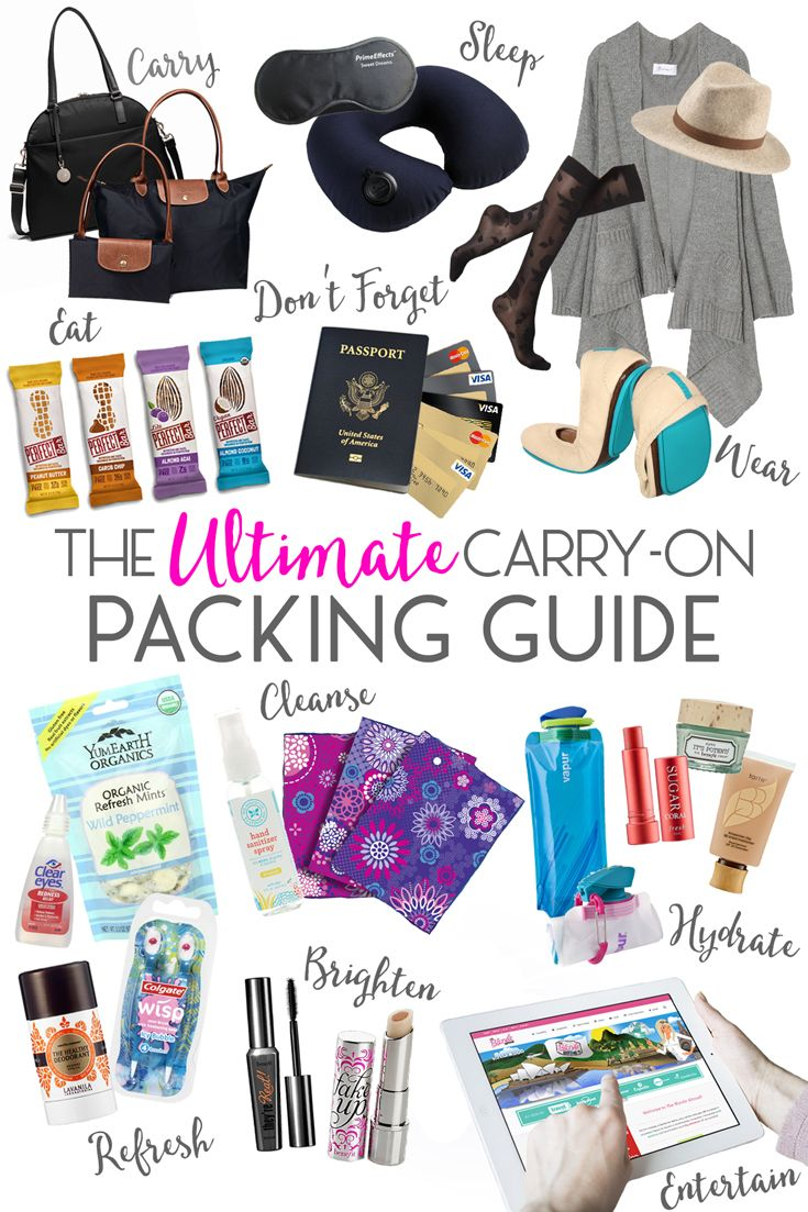 No matter where in the world I travel to, my carry-on packing routine is nearly always the same. I ensure I have all the essentials and whatever I need to stay comfortable.  Whether you're taking a 1-hour commuter flight or a 10-hour transatlantic flight, this carry-on packing guide will ensure you are properly equipped for a comfortable journey.