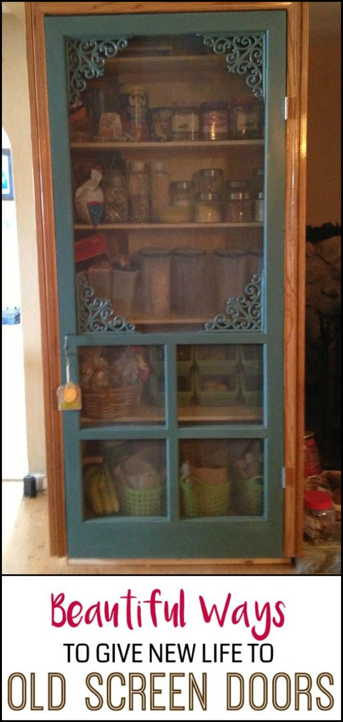 Eighty Clever Ideas to Repurpose Old Screen Doors