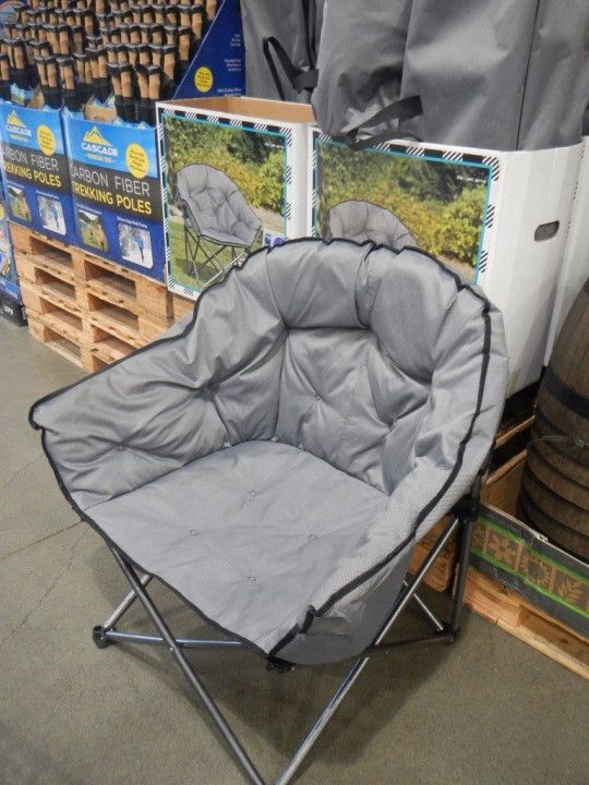 Folding Camping Chairs Costco Mega Motion Lift Timber Ridge Camp Chair Cool Rustic Furniture Desk Office