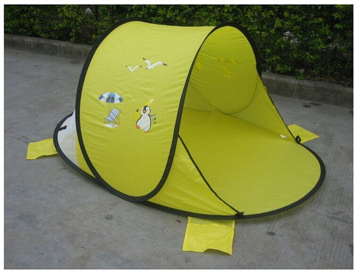 Aliexpress.com: Comprar Apertura rápida carpa infantil bebé pegamento plata gateando playa tienda de campaña exterior parasol playa barco cuenta envío gratis de lámpara de la tienda fiable proveedores en RAINBOWNS