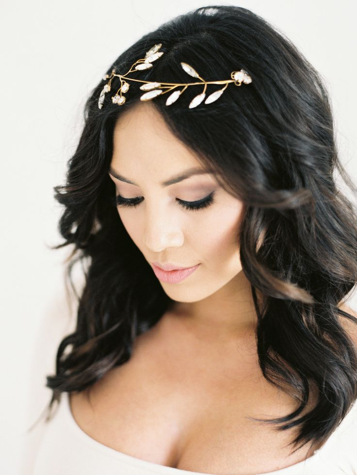 The Best Hairstyles Of 2015 Simple Bridal Hairstyle Baby Shower Hair Styles Hair Styles