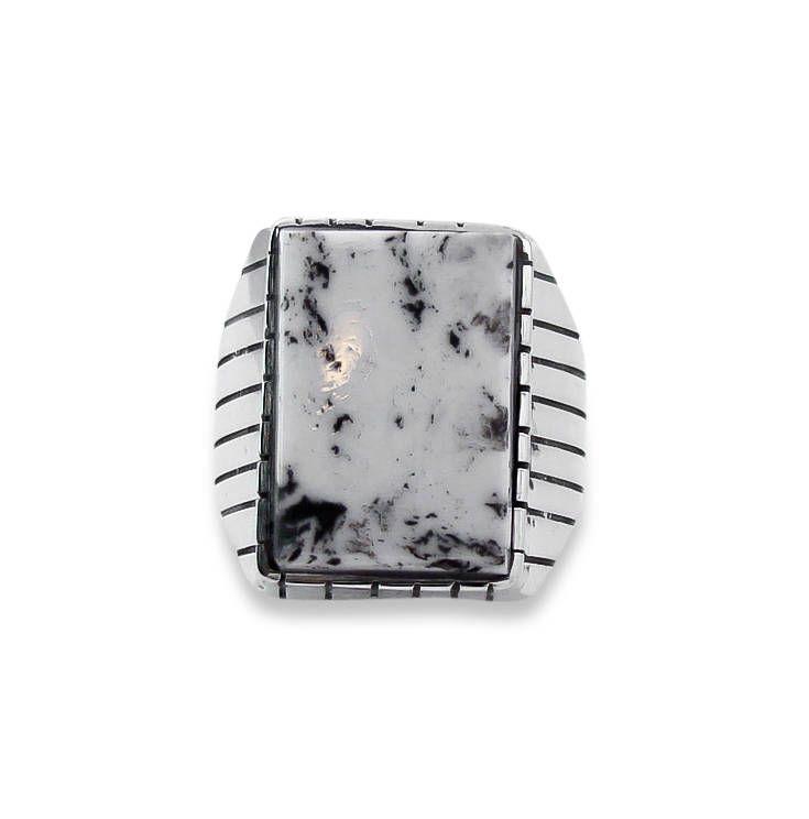 Men's Navajo White Buffalo Men's Ring Size 10,Navajo Mens Ring,Buffalo Men's Ring,Made In USA,Native American Ring,White Buffalo Ring,#Etsy by Highway66Treasures on Etsy