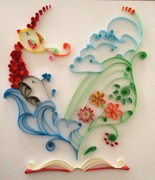 Tumblr-more quilling!  Love it!