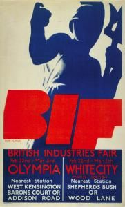 British Industries Fair Tom Purvis 1932