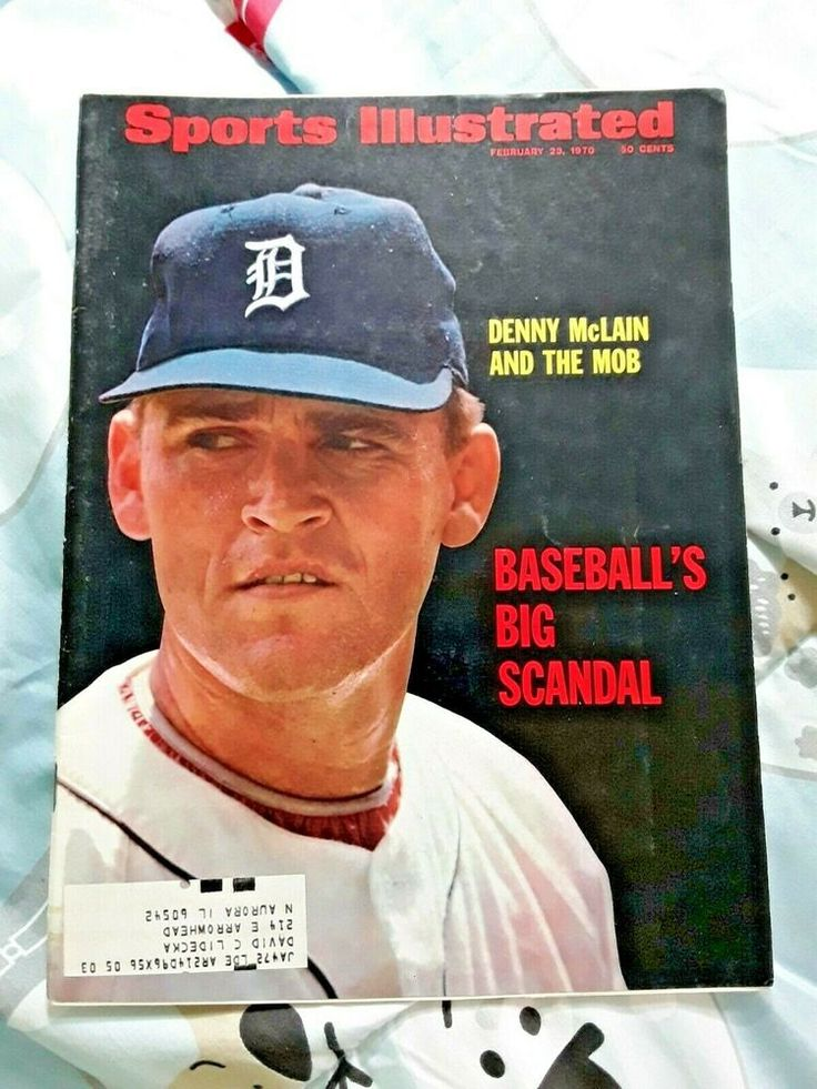 Sports Illustrated July 1968 Denny McClain Detroit Tigers