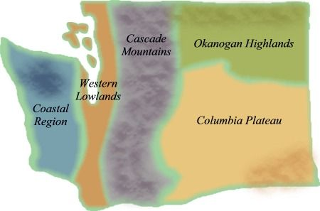 washington state regions unit 4th grade | ... characteristics of Washington's regions, see the following resources