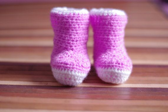 Baby Crochet Booties Baby Shoes Great Gift for by KgmAccessories