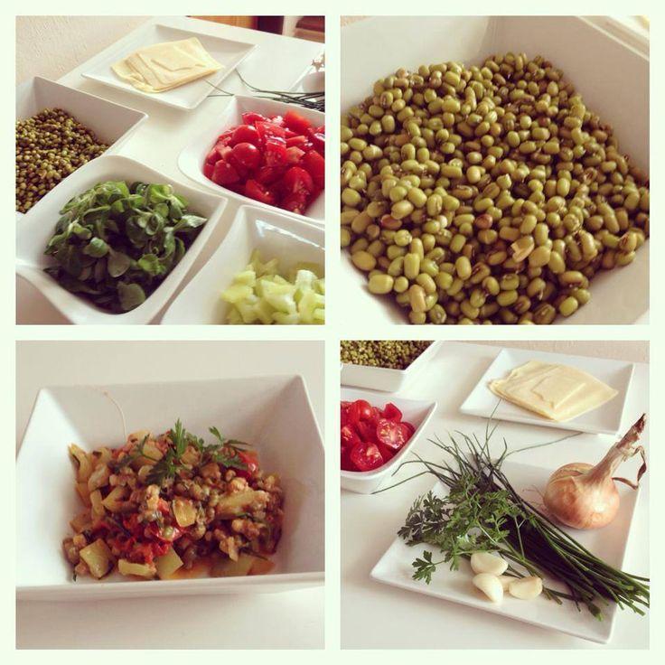 Mungo fazolky s chilli a zeleninou - Fitness Recepty