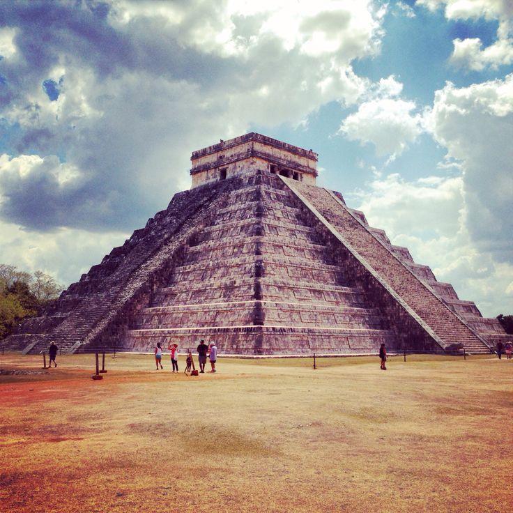 Chitchen Itza, Maya site in Yucatan, Mexico