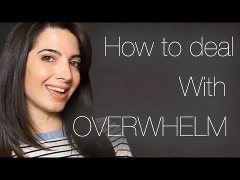 How To Deal With Overwhelm: Free Video Workshop  http://marieforleo.com/2011/02/deal-overwhelm-free-video-workshop/  Overwhelmed with everything that is happening in your life? Take it easy and follow these guides to help you with it. Sign up here (it's FREE!): www.marieforleo.com
