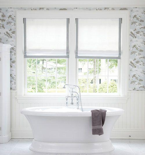 White Blinds For Windows 25+ best farmhouse roman shades ideas on pinterest | farmhouse