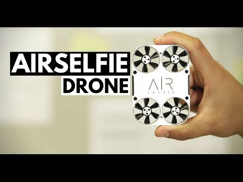 AirSelfie | A tiny drone that takes selfies